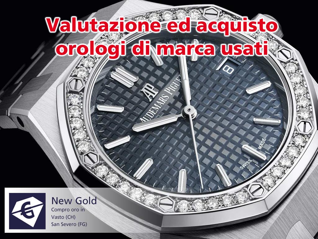 New Gold compro oro orologi di marca