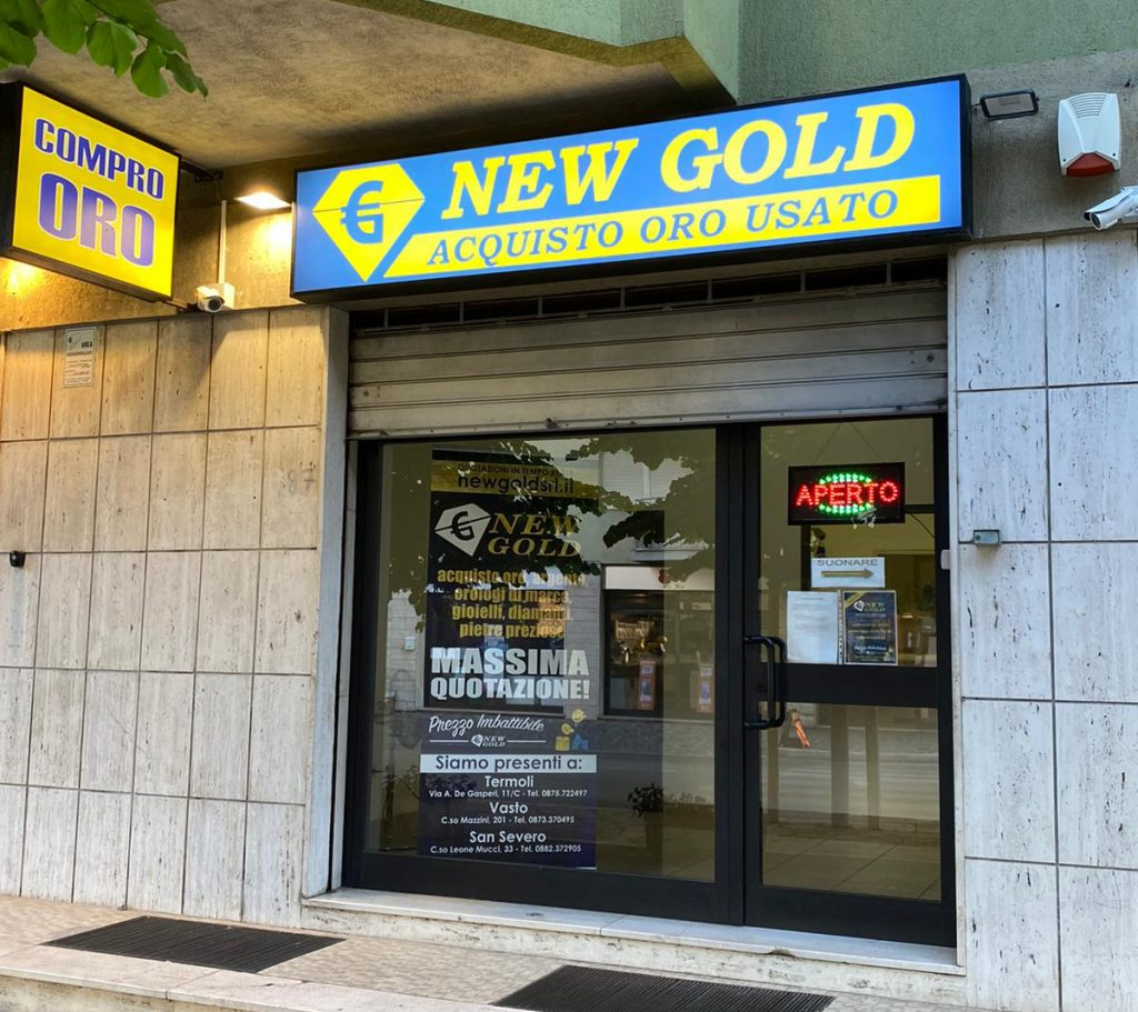 New Gold srl Compro oro in Vasto (CH)